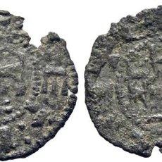 Monedas medievales: INFANTE ENRIQUE (1259) O ENRIQUE II (1366-1369). SEVILLA. PEPIÓN. VELLÓN. CY1176 (30 €). 0,55 G. BC. Lote 277005333