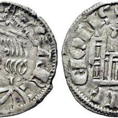 Monedas medievales: SANCHO IV (1286 Y SIGUIENTES). CORUÑA. CORNADO. VELLÓN. LA X ES UNA I CON RAYAS. EBC+. MUY ESCASA. Lote 277038333