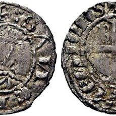 Monedas medievales: SANCHO IV (1286 Y SIGUIENTES). BURGOS. SEISÉN. VELLÓN ARIANTE EN LA N. 0,8 G. EBC+ ESCASA ATRACTIVO. Lote 277101813