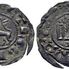 Monedas medievales: FERNANDO IV (1295-1312). BURGOS. PEPIÓN. VELLÓN. LEYENDA: FREG(IS C)ASTE(LLE) Y ET LEGIONIS. EBC. Lote 277102053