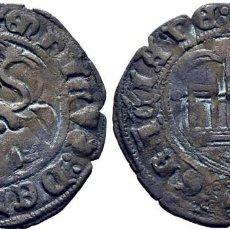 Monedas medievales: ENRIQUE III (1390-1406). BURGOS. BLANCA O CINQUÉN. VELLÓN. CY1492 VTE. 1,95 G. EBC. Lote 277609798