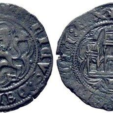 Monedas medievales: ENRIQUE III (1390-1406). BURGOS. BLANCA O CINQUÉN. VELLÓN. LAS LEYENDAS TERMINAN EN REX. EBC. TONO. Lote 277686093