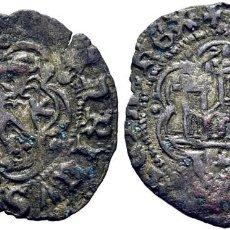 Monedas medievales: ENRIQUE III (1390-1406). CORUÑA. BLANCA O CINQUÉN. VELLÓN. LEYENDAS: ENR….ACIAREX Y …NRICVS DEI.... Lote 277717548