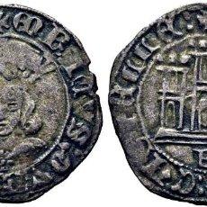 Monedas medievales: ENRIQUE IV (1454-1474). BURGOS. 1/ 2 CUARTILLO. VELLÓN. EBC-. ATRACTIVO EJEMPLAR. MUY ESCASA. Lote 277730553