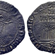 Monedas medievales: ENRIQUE IV (1454-1474). SEVILLA. 1/2 CUARTILLO. VELLÓN. CY1699 (90 €). MBC. ESCASA. Lote 278216353