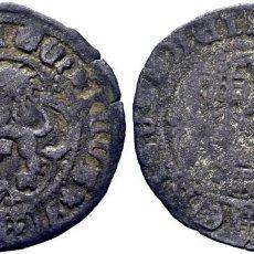 Monedas medievales: ENRIQUE IV (1454-1474). SEGOVIA. 1/2 BLANCA. VELLÓN. LEYENDA DE ANVERSO: ENRICVS DEI DO ETIS. Lote 278218363