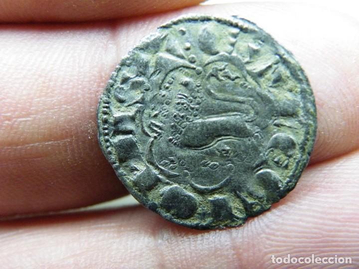 ALFONSO X-DINERO SEISEN- EXTRAÑA CECA-ARMIÑO? NO CATALOGADA EN AB. R-TRES PUNTOS (ELCOFREDELABUELO) (Numismática - Medievales - Castilla y León)