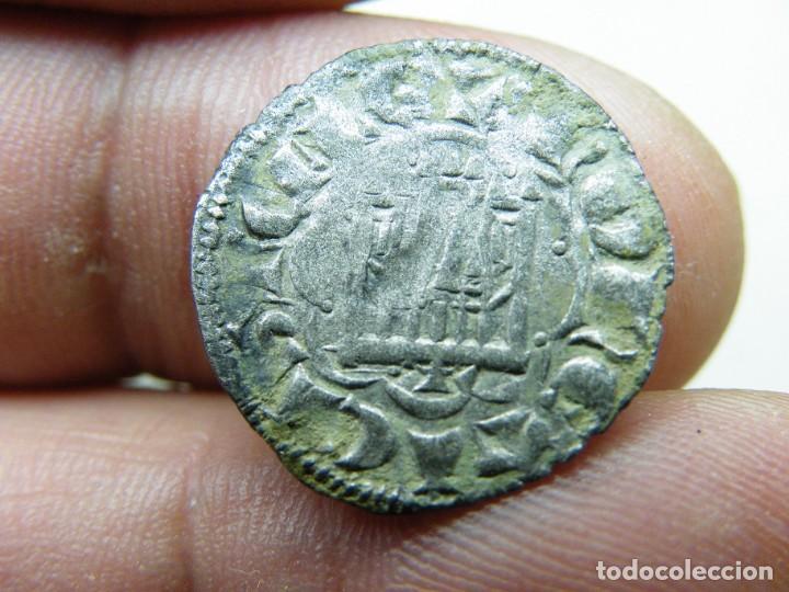Monedas medievales: Alfonso X-Dinero Seisen- Extraña Ceca-Armiño? No catalogada en AB. R-tres puntos (elcofredelabuelo) - Foto 2 - 278361468