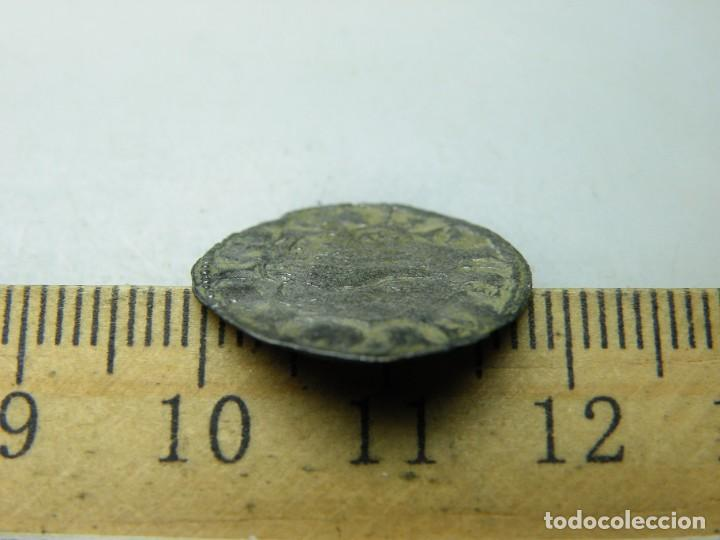 Monedas medievales: Alfonso X-Dinero Seisen- Extraña Ceca-Armiño? No catalogada en AB. R-tres puntos (elcofredelabuelo) - Foto 4 - 278361468