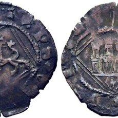 Monedas medievales: ENRIQUE IV (1454-1474). ÁVILA. DINERO. VELLÓN. SIN ADORNOS EN LOS ARCOS. AB 827. CY1709. Lote 278956418