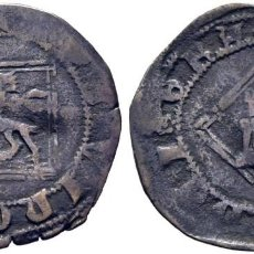 Monedas medievales: ENRIQUE IV (1454-1474). ÁVILA. DINERO. VELLÓN. FLORES EN LAS LEYENDAS Y SIN ADORNOS EN LOS ARCOS.. Lote 278962103