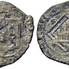 Monedas medievales: ENRIQUE IV (1454-1474). CUENCA. DINERO. VELLÓN. CUENCO BAJO EL CASTILLO. PUNTO DELANTE DEL LEÓN.. Lote 278962673