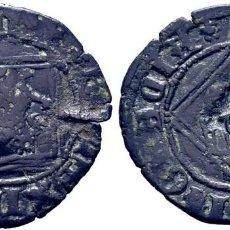 Monedas medievales: ENRIQUE IV (1454-1474). SEGOVIA. DINERO. VELLÓN. LEYENDAS: ENRICVS DEI GRACIA Y REVERSO LEYENDA. Lote 278964703