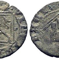 Monedas medievales: ENRIQUE IV (1454-1474). TOLEDO, CECA PERCEPTIBLE. DINERO. VELLÓN. PUNTOS EN LOS ARCOS DEL CASTILLO. Lote 278965433