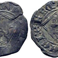 Monedas medievales: ENRIQUE IV (1454-1474). TOLEDO. DINERO. VELLÓN. LEYENDA TERMINA D(GIRADA)EI: GR Y REVERSO XP…GNA.. Lote 278966563