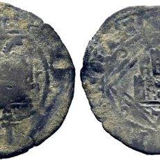 Monedas medievales: ENRIQUE IV (1454-1474). TOLEDO. DINERO. VELLÓN. RESELLO.. Lote 278966988