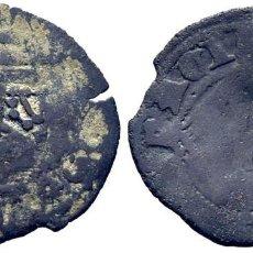 Monedas medievales: ENRIQUE IV (1454-1474). TOLEDO, CECA CASI INVISIBLE. DINERO. VELLÓN. RESELLO DE L EN BANDA NÍTIDO. Lote 278967348
