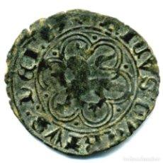 Monnaies médiévales: XS- ENRIQUE IV (1454-1474) BLANCA DE 1462 BURGOS CON QVARTVS EN LEYENDA. Lote 284526593
