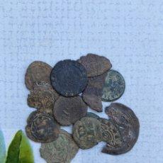 Monnaies médiévales: LOTE 13 PIEZAS MEDIEVAL - ARABE - PORTUGAL - PLATA - MUY INTERESANTE - A IDENTIFICAR. Lote 286949943