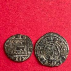 Monedas medievales: LOTE DINERO ALFONSO I Y ÓBOLO ALFONSO X.. Lote 288329773