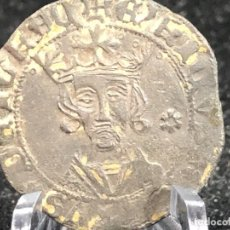 Monedas medievales: MONEDA MEDIEVAL. CUARTILLO DE ENRIQUE IV CECA DE GUADALAJARA, MUY RARA, BUEN ESTADO, MUCHOS DETALLES. Lote 288915443