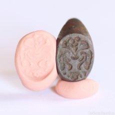 Monedas medievales: PRECIOSO ANILLO SELLO RELIGIOSO O HERALDICO S. XVI-XVII. Lote 291879993