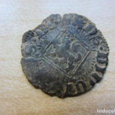 Monedas medievales: BLANCA DE VELLÓN DE ENRIQUE IV 1454-1474 CECA SEVILLA. Lote 292345533