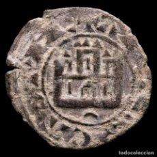 Monedas medievales: ALFONSO X (1252-1284) DINERO PRIETO, CRECIENTE INVERTIDA. (6186). Lote 293745528