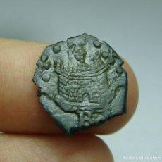 Monedas medievales: BLANCA (1/2 MARAVEDÍ). FELIPE II. BURGOS. Lote 294442003