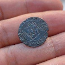 Monedas medievales: BLANCA DE ENRIQUE-IV CORUÑA. Lote 294832538