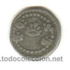 Monedas medievales: PLOMO IGLESIA LA SANG (LA SANGRE) CINCO SALPICADURAS DE SANGRE JESUCRISTO CRUSAFONT Nº2419 MALLORCA. Lote 70456034