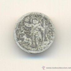 Monedas medievales: PLOMO IGLESIA DE CALVIÀ CALVIA MALLORCA SIGLO XIII AL XVIII CRUS. Nº2396 SAN JUAN COLECCIÓN BALSACH. Lote 27918457