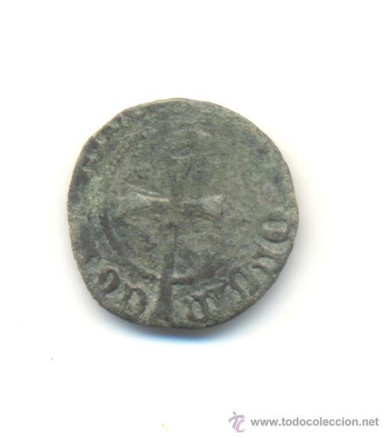 Monedas medievales: 11-BARATO DOBLER DE JUAN II (1458-1479) CECA DE MALLORCA MARCA ESCUDOS CATALANES CATALUÑA - Foto 2 - 30176891