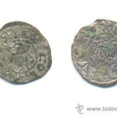 Monedas medievales: 18- DOS BARATOS DINERS DE JAIME I DE VALENCIA (1213-1276). Lote 30188357