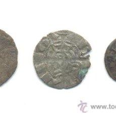 Monedas medievales: 20- TRES PIEZAS A CLASIFICAR. Lote 30188378