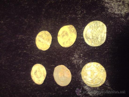 MUY ECONOMICO LOTE DE 6 ARDITES (Numismática - Medievales - Cataluña y Aragón)
