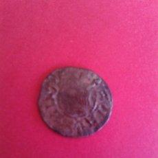 Monedas medievales: FERNANDO II. 1479 - 1516. DINERO DE BARCELONA. COBRE. SEGURAMENTE FALSA DE ÉPOCA.. Lote 44946371