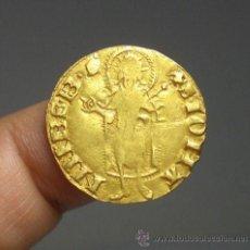 Monedas medievales: FLORIN DE ORO, PEDRO IV DE ARAGON, 21 MM / 3,46 GR. Lote 46572102