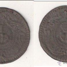 Monedas medievales: PELLOFA DE 8 SOU DE OLOT INCUSA DE HOJALATA. CATÁLOGO CRUSAFONT-1918. BC. (MC16).. Lote 49077567