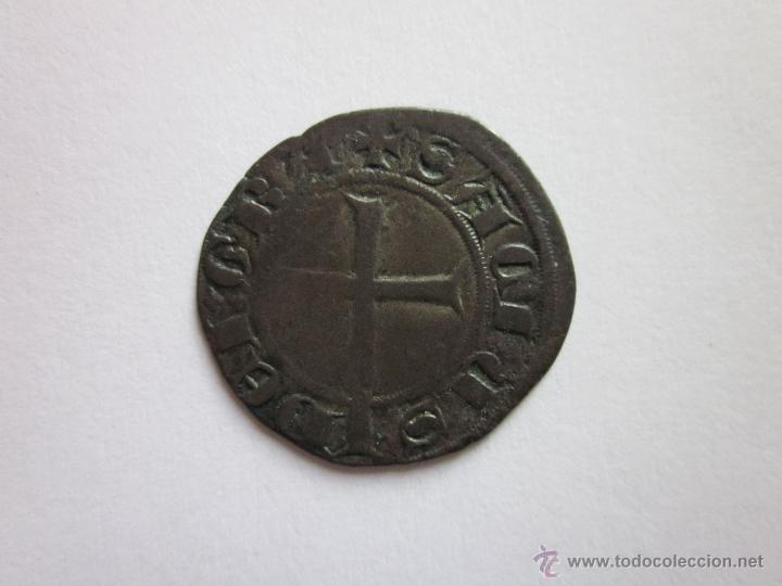 Monedas medievales: Escaso Dobler de Sanç de Mallorca. - Foto 2 - 50218393