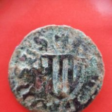 Monedas medievales: RARISIMO DINER DE ALGUER CERDEÑA ITALIA ALFONSO II SIN ORLA DE PUNTOS EN ANVERSO. CRUSAFONT NO CITA. Lote 50337150