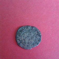 Monedas medievales: JUANA Y CARLOS. DINERO DE ARAGÓN. VELLÓN. ESCASO. MBC. 0,7 GRAMOS. Lote 50468251