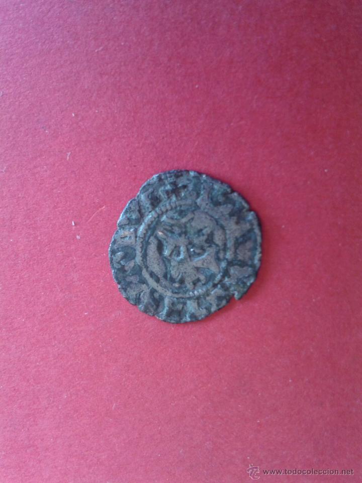 Monedas medievales: JUANA Y CARLOS. DINERO DE ARAGÓN. VELLÓN. ESCASO. MBC. 0,7 GRAMOS - Foto 2 - 50468251
