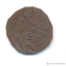 Monedas medievales: 30- MUY CURIOSO DOBLER FALSO FALSA DE ÉPOCA FELIPE V O CARLOS II CECA DE MALLORCA.. Lote 50620999