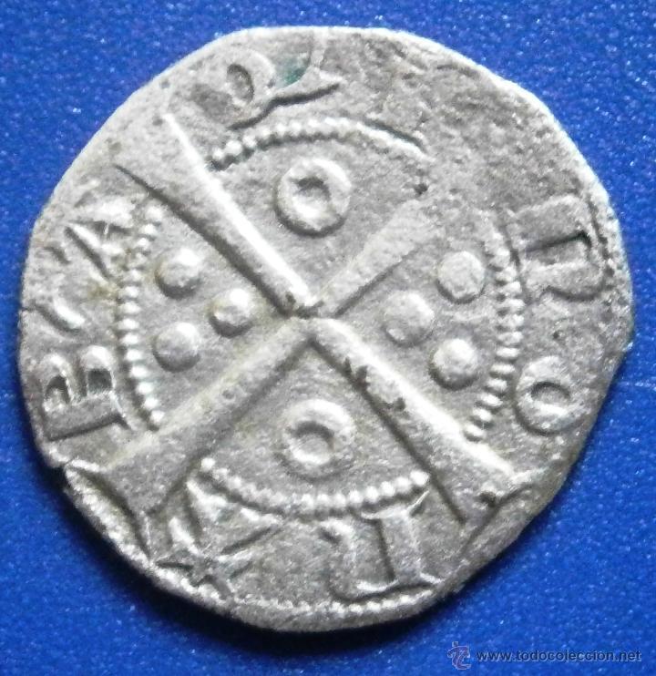 Monedas medievales: Jaime II El Justo Dinero de Barcelona Ver Fotos - Foto 2 - 52419660