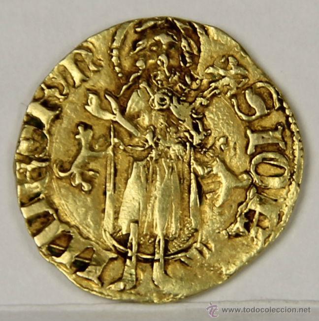 MO-064. MONEDA MEDIEVAL DE ORO. FLORIN ARAGONES DE ALFONSO IV. 1327-1336. (Numismática - Medievales - Cataluña y Aragón)