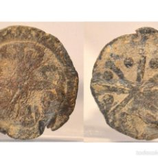 Monedas medievales: PLOMO MONETARIO MEDIEVAL. Lote 56729898
