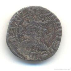Monedas medievales: 28- DOBLER DE ALFONSO IV EL MAGNANIMO (1416-1458) CECA DE MALLORCA. MARCA: PERROS MAESTRO DESCATLLAR. Lote 58414202