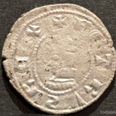 Monedas medievales: DINER DE BARCELONA PERE III (1336-138) DINERO PEDRO III A Y U LATS. Lote 58507530