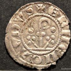 Monedas medievales: DINER AGRAMUNT ERMERGOL X DINERO VELLON (1267-1314). Lote 58666464